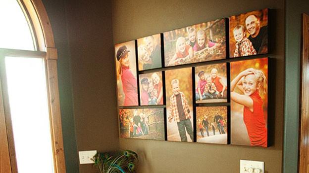 6 increbles formas de decorar tu casa con fotos for Formas de decorar una casa