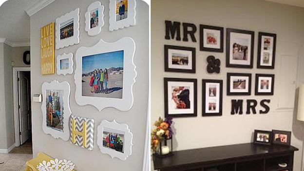 6 increbles formas de decorar tu casa con fotos for Maneras de decorar tu casa